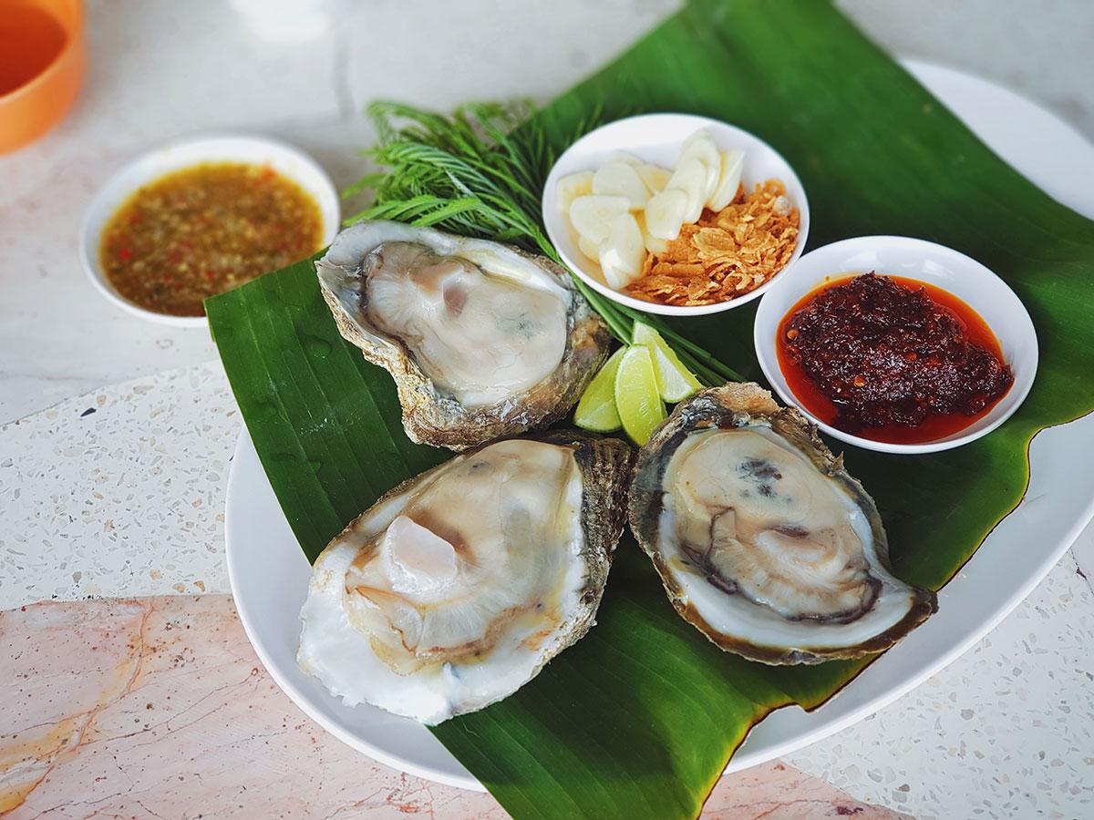 หอยนางรม หัวหิน